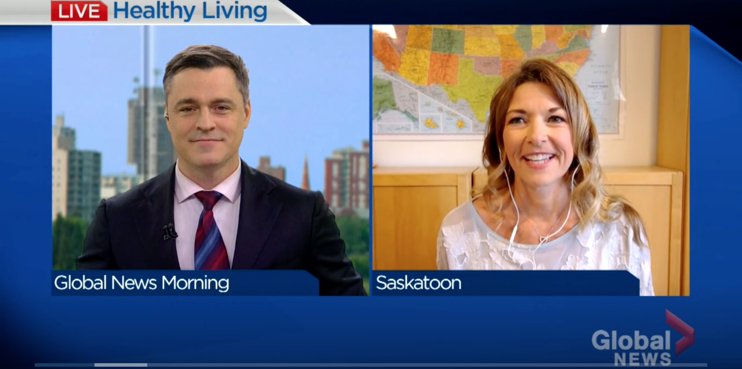 Dr. Jacqui Fleury on Spring Allergies Global News Healthy Living interview