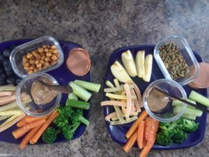 healthy snacks for kids - eat your veggies