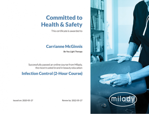 Carrianne McGinnis: Committed to Health & Safety Certification