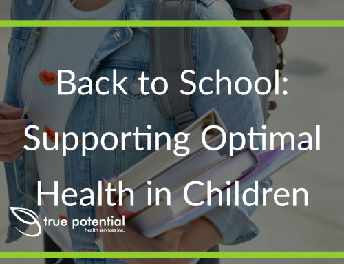 Back to School: Supporting Optimal Health in Children