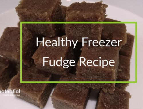 Healthy Freezer Fudge Recipe